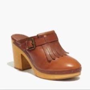 Madewell original clogs size 9 1/2